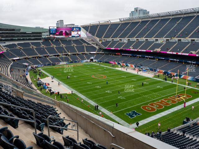 Soldier Field Section 301 view