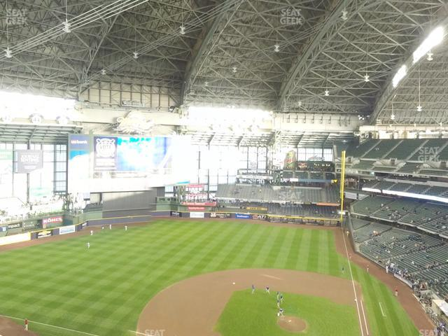 Miller Park Section 427 view