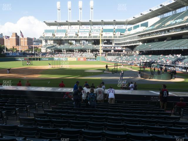 Progressive Field Section 160 view
