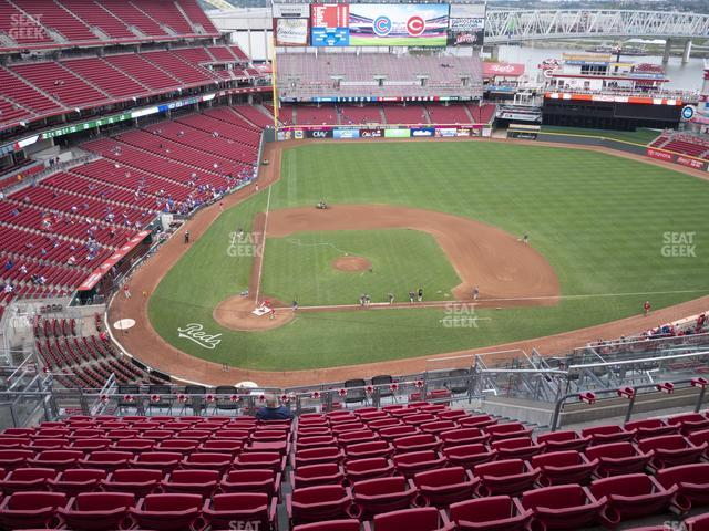 Great American Ball Park Section 528 view