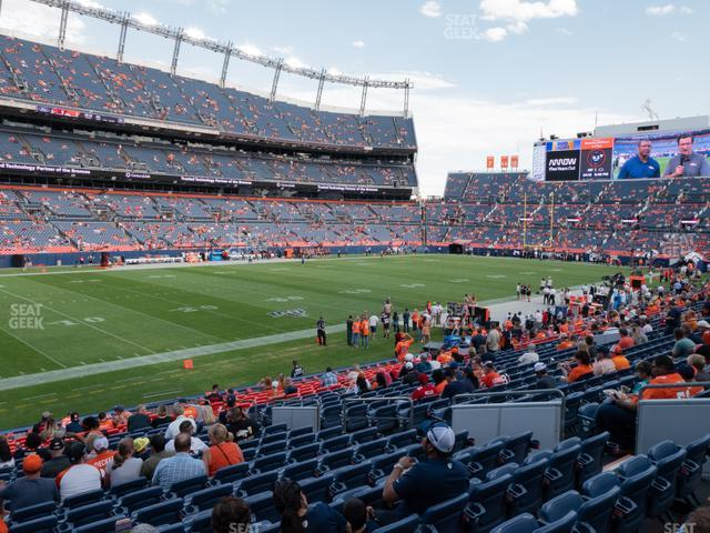 Empower Field at Mile High Section 109 view