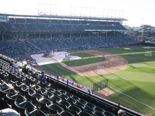 Wrigley Field 330 Right view