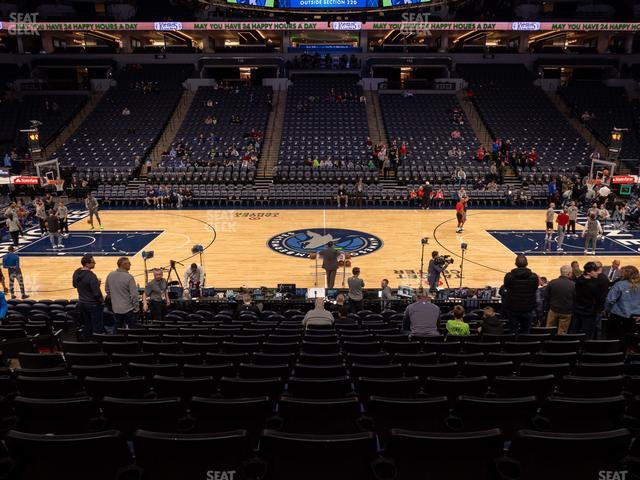 Target Center Section 131 view
