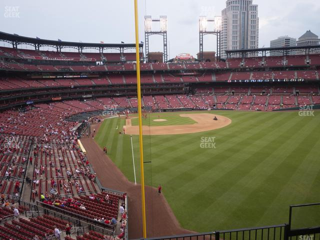 Busch Stadium Right Field Loge 229 view