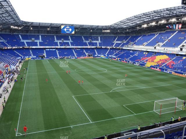 Red Bull Arena Section 203 view
