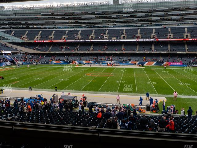 Soldier Field Section 235 view