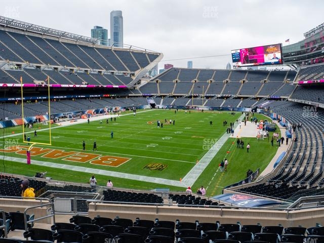 Soldier Field Section 219 view