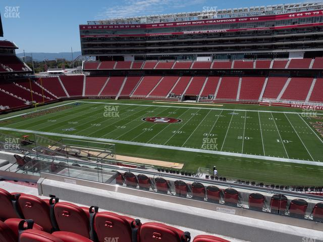Levi's Stadium Section C 213 view