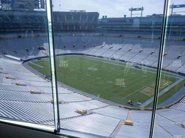 Lambeau Field Section 694 view