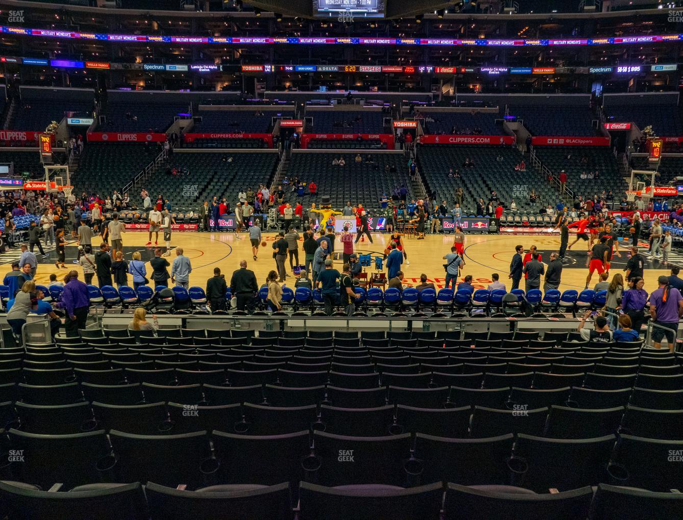 Staples Center Section 111 Seat Views | SeatGeek