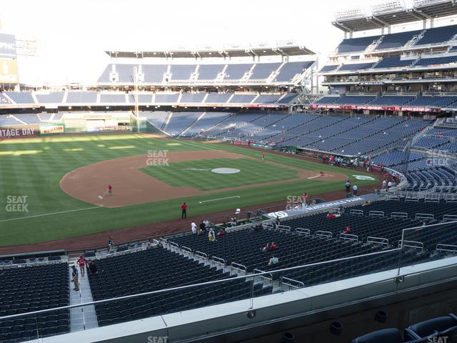 Nationals Park Section 206 view