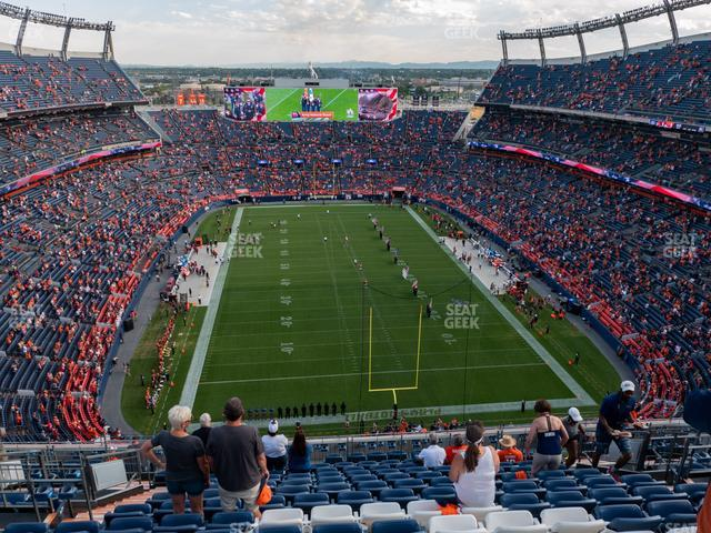 Empower Field at Mile High Section 522 view