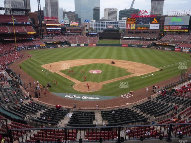 Busch Stadium Home Redbird Club 249 view