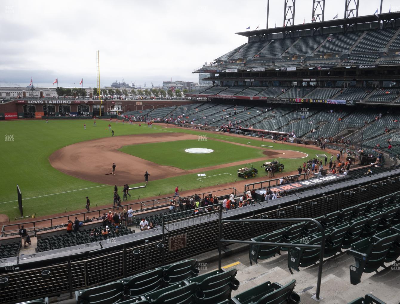 San Francisco Giants at Oracle Park Section 226 View