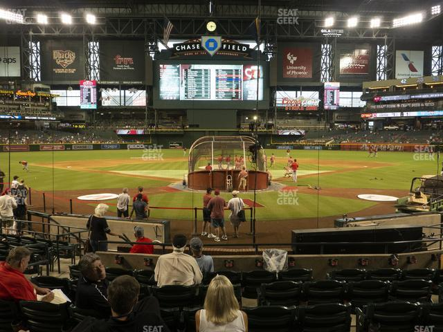 Chase Field Section J view
