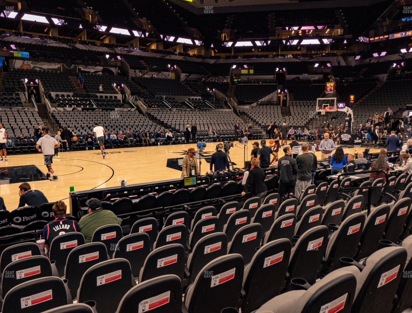 San Antonio Spurs at AT&T Center Charter 10 View
