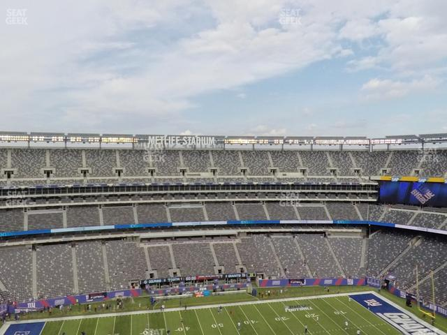MetLife Stadium Section 340 view