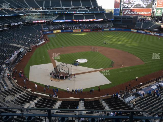 Citi Field Section 411 view