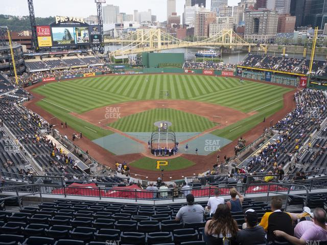 PNC Park Section 316 view
