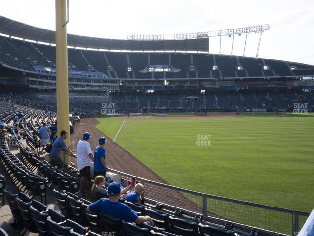 Kauffman Stadium Section 148 view