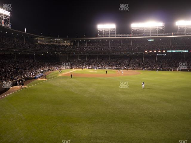 Wrigley Field Budweiser Bleachers 515 view