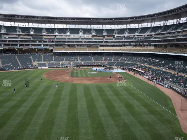 Target Field Section 230 view