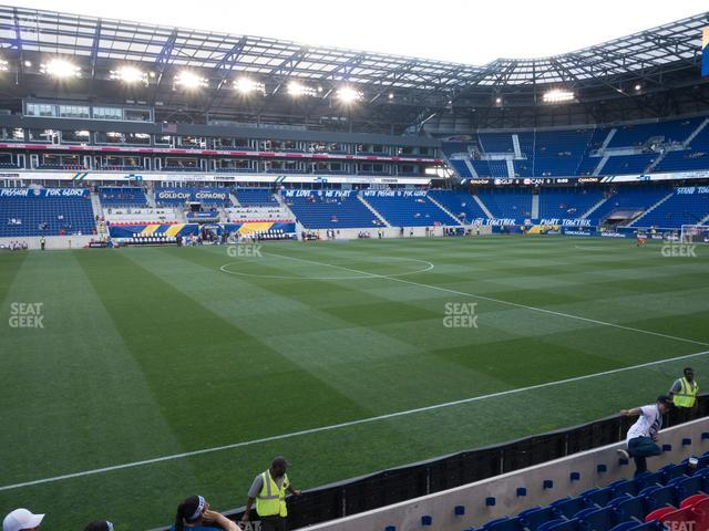 Red Bull Arena Section 128 view