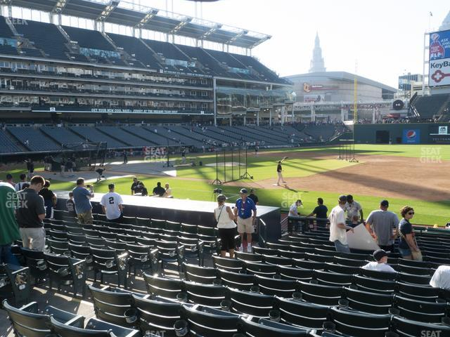 Progressive Field Section 138 view