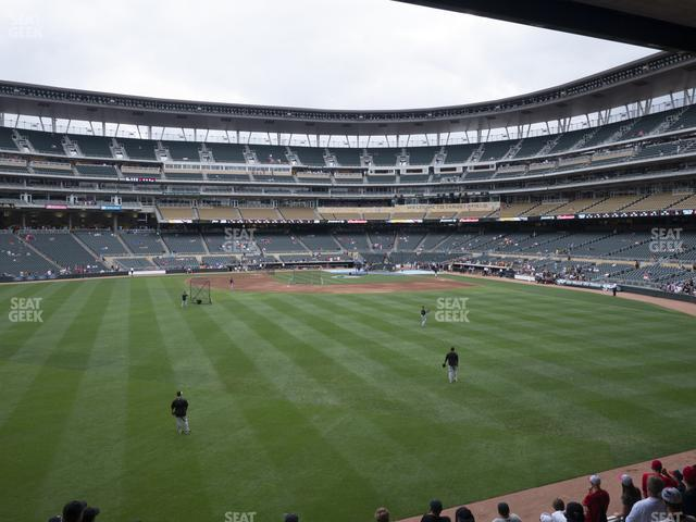 Target Field Section 131 view