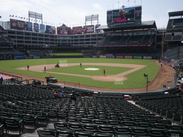 Globe Life Park Section 24 view