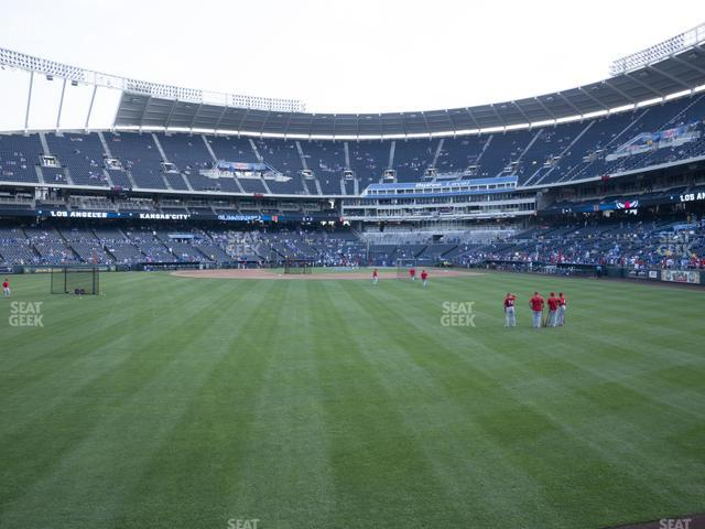 Kauffman Stadium Section 103 view