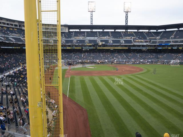 PNC Park Section 145 view