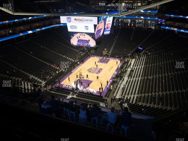 Golden 1 Center Section 210 view