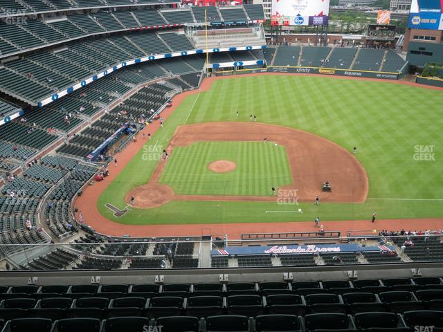SunTrust Park Section 420 view