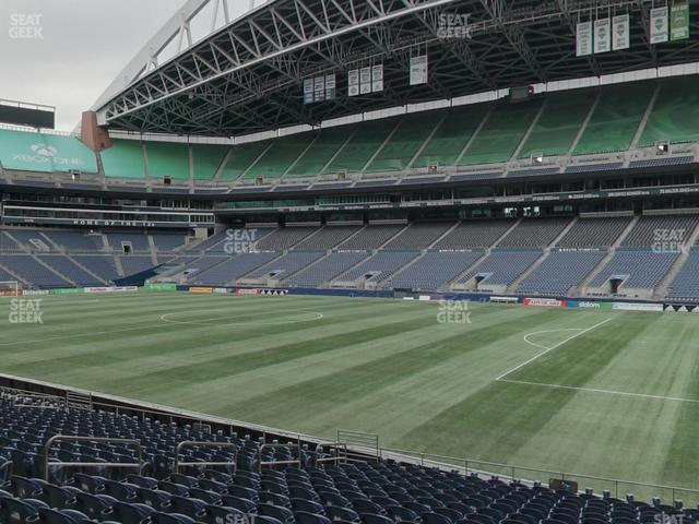 CenturyLink Field Section 105 view