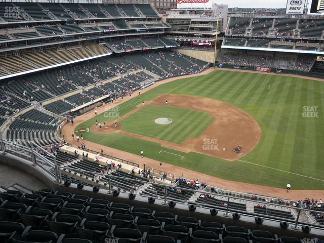 Target Field Section 307 view