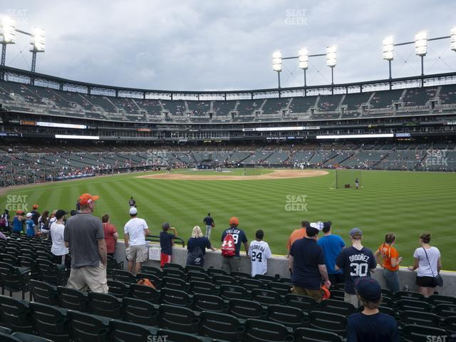 Comerica Park Section 102 view