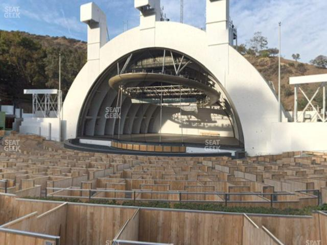 Hollywood Bowl Terrace 2 view