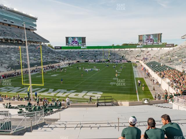 Spartan Stadium Section 15 view