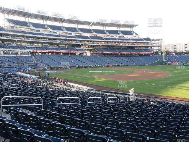 Nationals Park Section 135 view
