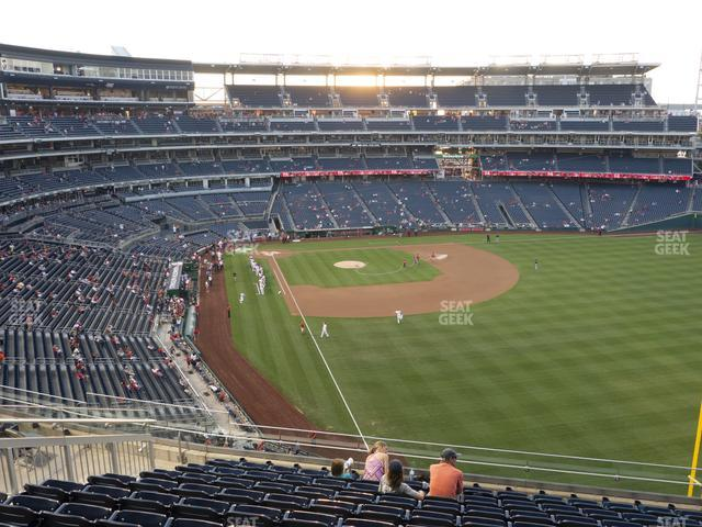 Nationals Park Section 232 view