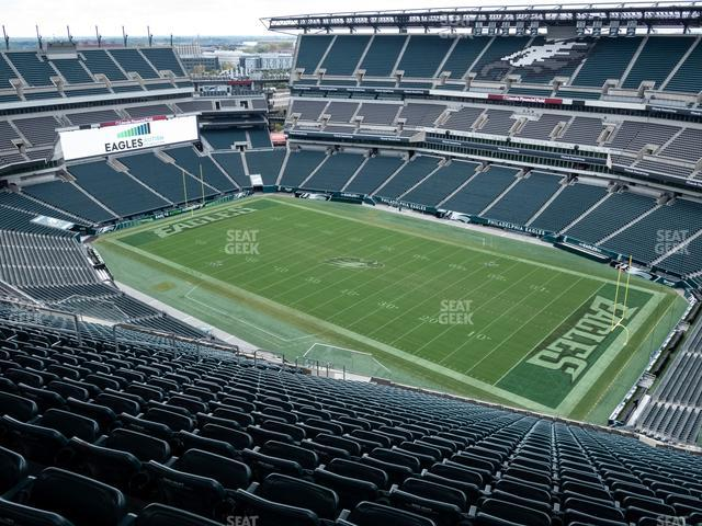 Lincoln Financial Field Section 230 view