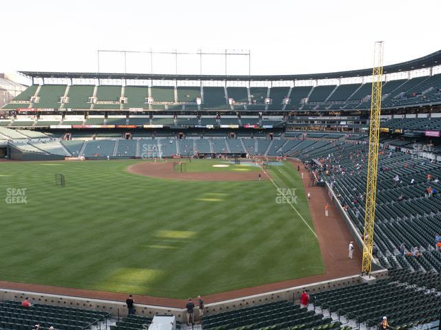 Oriole Park at Camden Yards Section 280 view