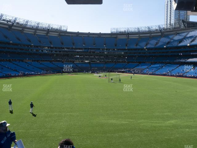 Rogers Centre Section 101 L view