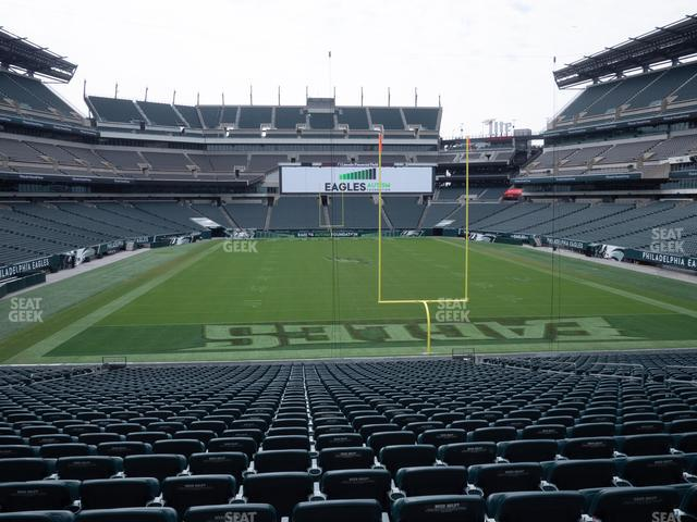 Lincoln Financial Field Section 128 view