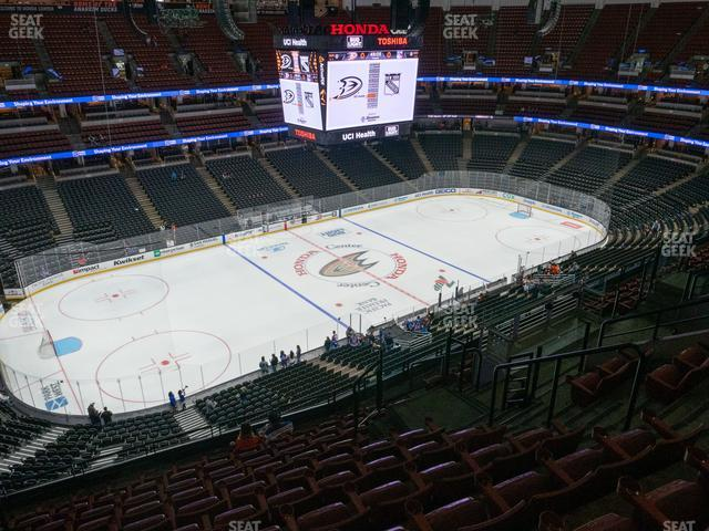 Honda Center Section 415 view