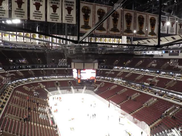 United Center Section 328 view