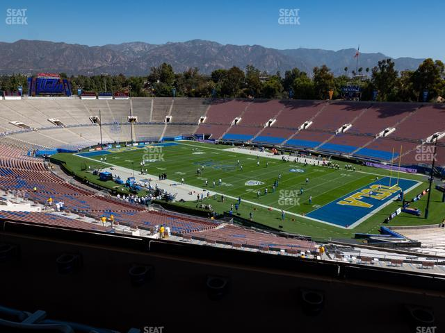 The Rose Bowl Section Club 101 view