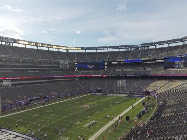 MetLife Stadium Section 221 A view