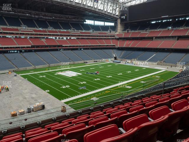NRG Stadium Section 314 view